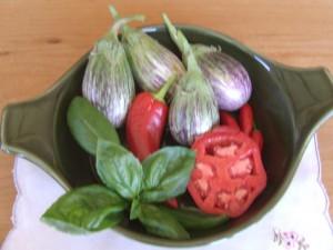 Listada de Grandia--Indian eggplants.Delicious served in a tempura batter.