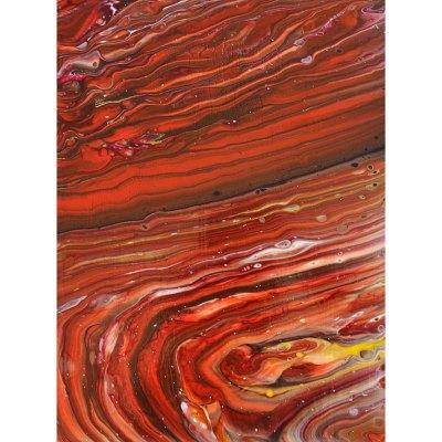 Original abstract art Maggie Ziegler Art Alchemy Courtenay BC