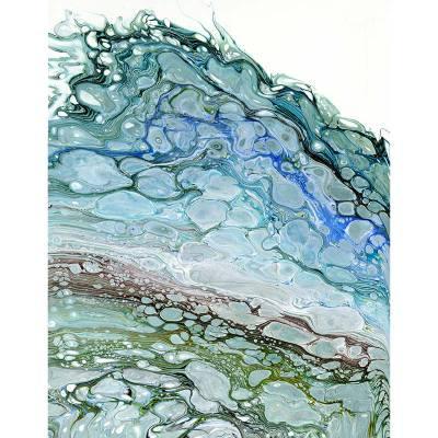 Coastal Shores Original art and prints by Maggie Ziegler artist and graphic designer Art Alchemy Studio Courtenay BC