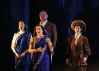 Satyagraha: Tailored the suit for the principal singer playing Miss Schlesen, Gandi's Secretary -far right.
