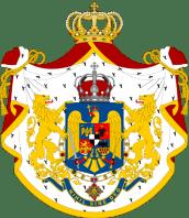 Regatul României - Stemă folosită între 1921-1948 (mare), variantă 1