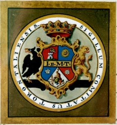 Stema Comitatului Torontal din 1779