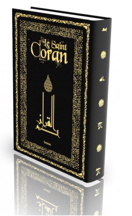 Livre : Le Saint Coran - Noir