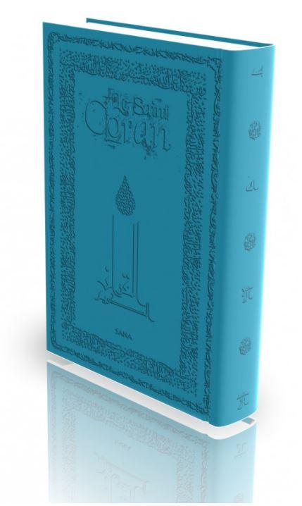 Livre : Le Saint Coran - Turquoise