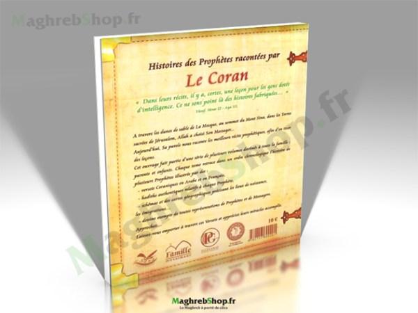 Livre : Histoires des Prophètes racontées par le Coran -