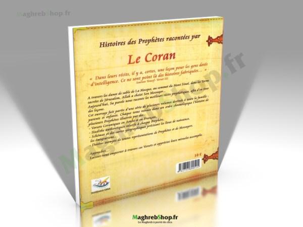 Livre : Histoires des Prophètes racontées par le Coran