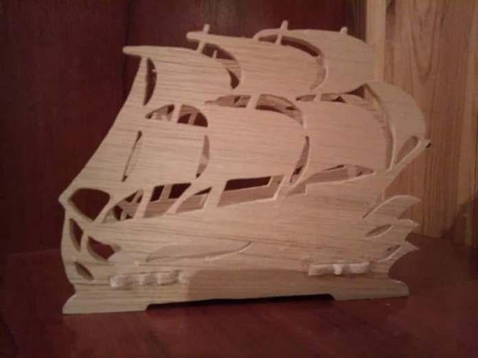 Obiecte decorative din lemn