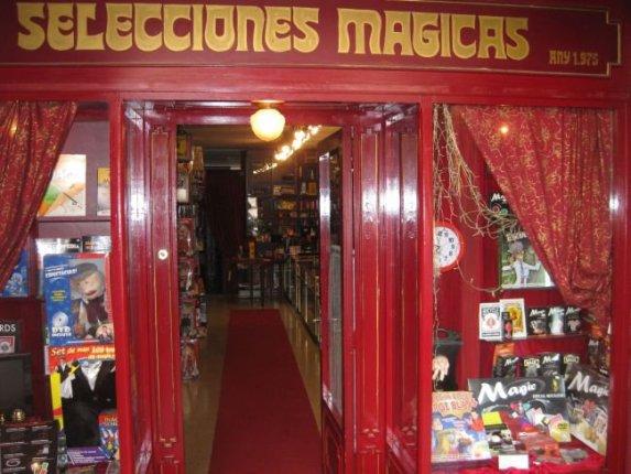 tienda entrada selecciones magicas