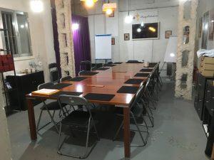 La sala secreta para las clases de magia.