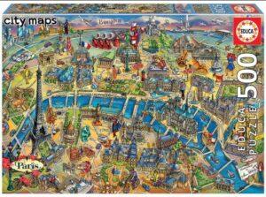 Puzzle Paris Educa