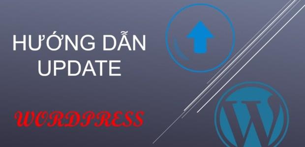 hướng dẫn update wordpress
