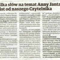 """,,Wartości, które przekazuje Anna Jantar w piosenkach są ponadczasowe. A może właśnie w dzisiejszych czasach brakuje ludziom ich jeszcze bardziej?"""""""