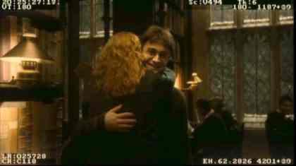 abrazo harry potter