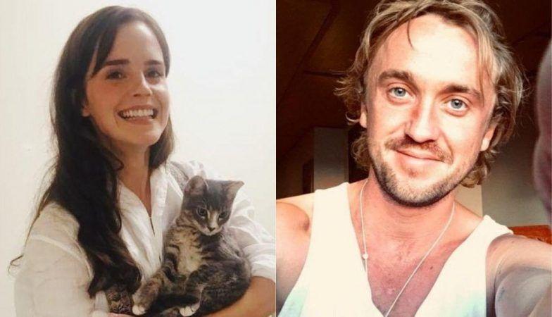 Emma Watson y Tom Felton