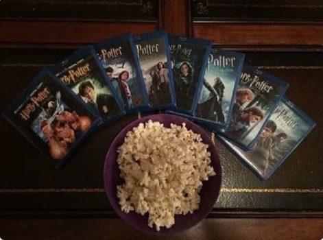 DEMOSTRADO: El mejor regalo para San Valentin es un maratón de Harry Potter.