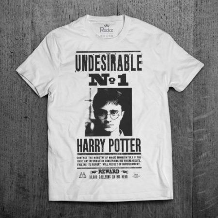 camisetas de Harry Potter