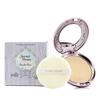 пудра EtudeHouse Secret Beam Powder Pact 1.Light Pearl Beige