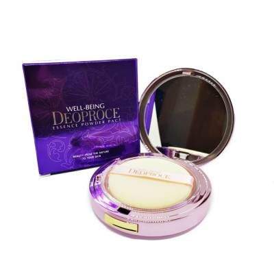 Компактная пудра DEOPROCE Well-Being Essence Powder Pact