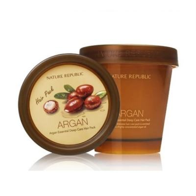 Маска для волос с маслом арганы NATURE REPUBLIC Argan Essential Deep Hair Pack