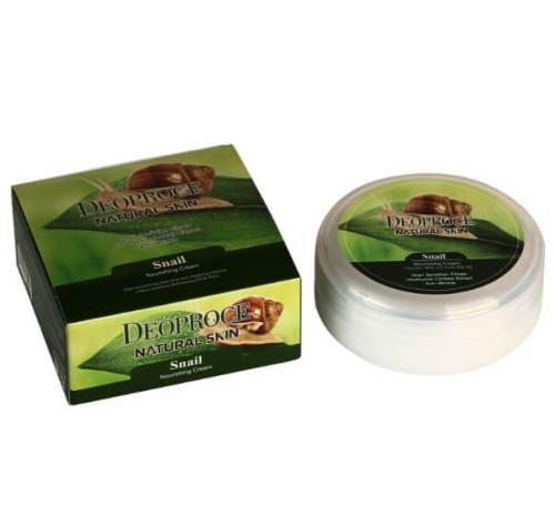 Улиточный крем DEOPROCE Natural Skin Snail Nourishing Cream