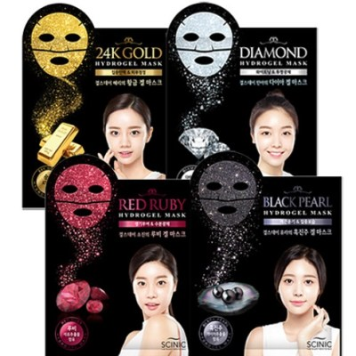 Гидрогелевая маска Scinic Hydrogel Mask - Red Ruby