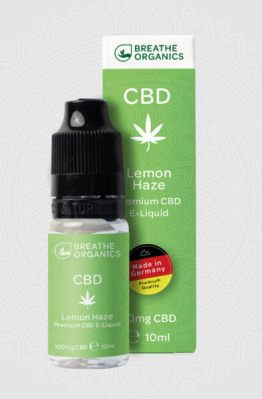 Breathe Organics - Lemon Haze CBD E-Liquid 7