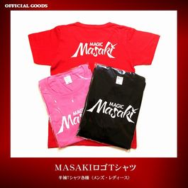 MASAKIロゴTシャツ