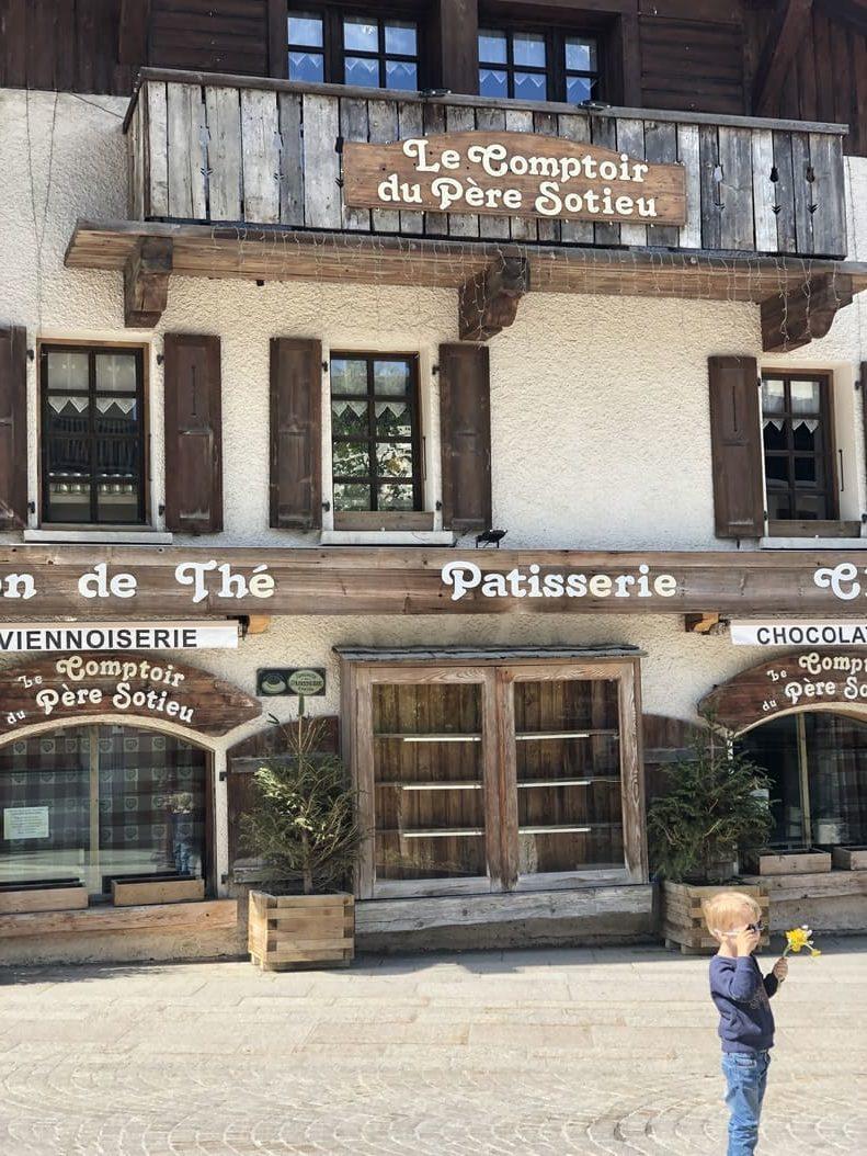 Le comptoir du Père Sotieu - patisserie - chocolaterie - Megeve - France - 2