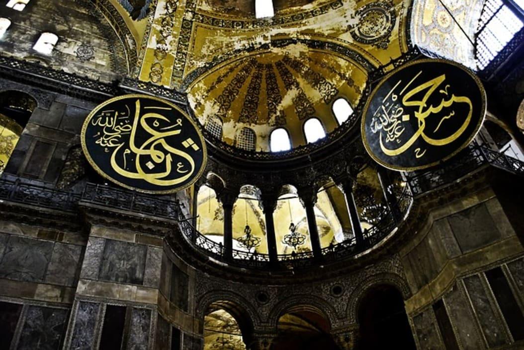 Mosquees - istanbul - turquie 11 - hagia-sofia-705689_640