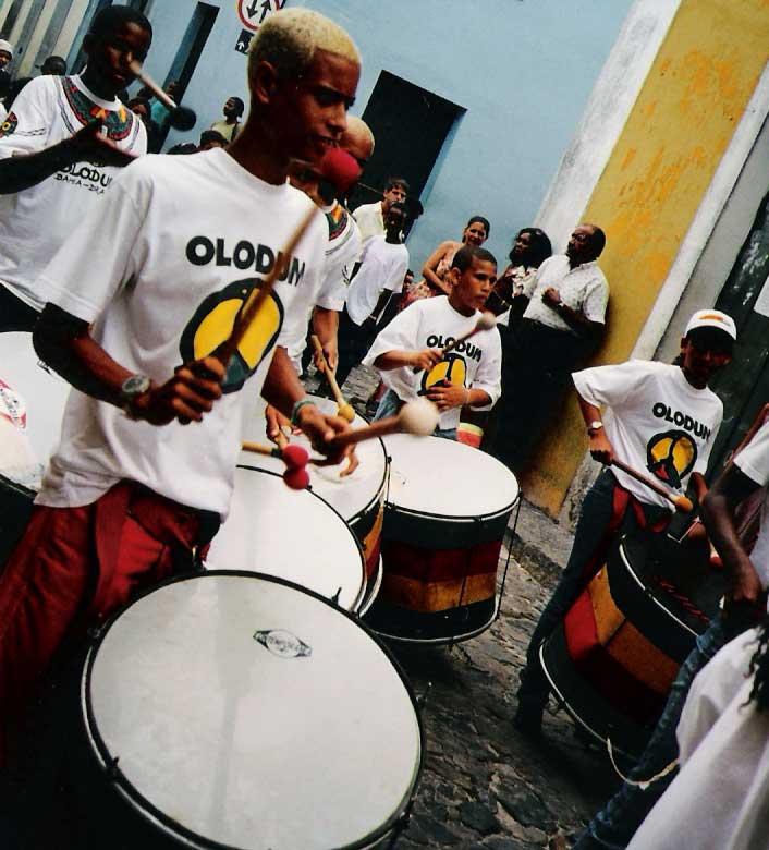 Salvador de Bahia - Brésil 9 - Olodum-drummers