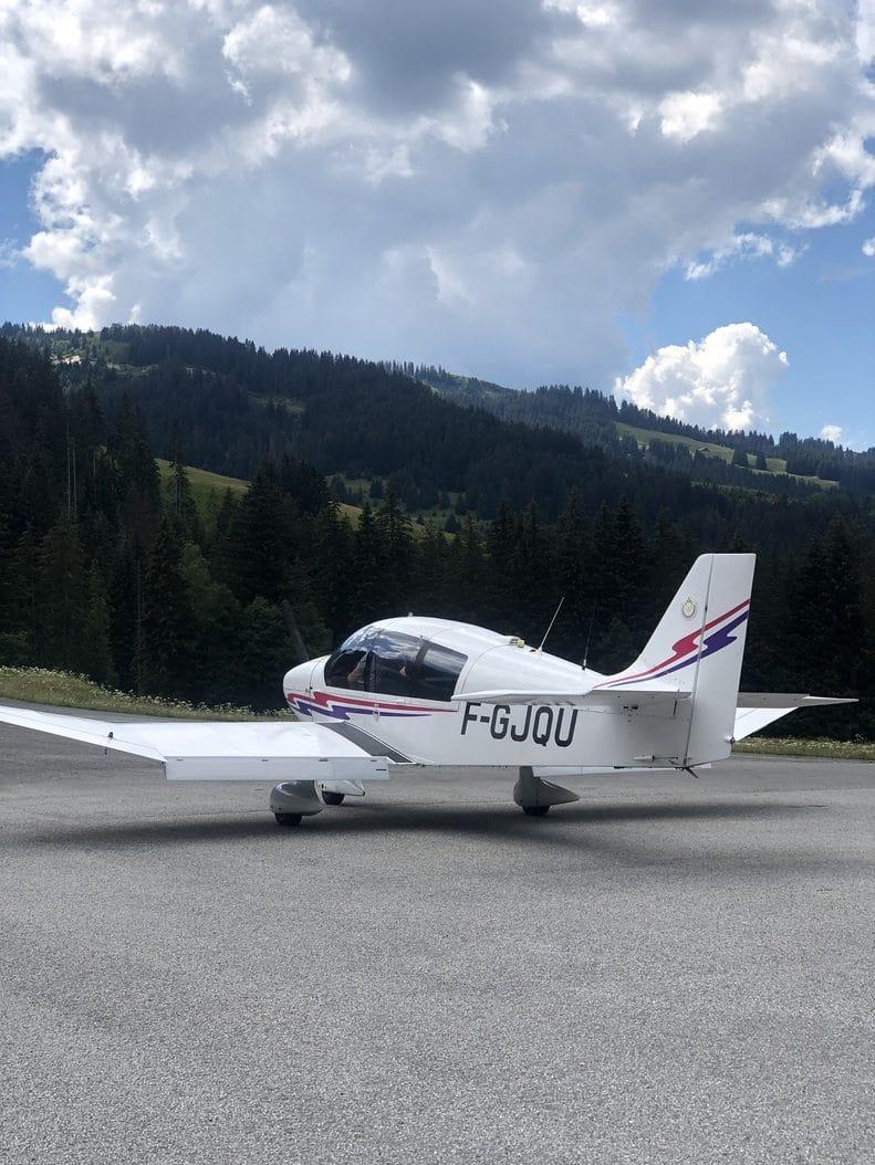 aerocime - vol avion massif du mont blanc - megeve - France - image 1