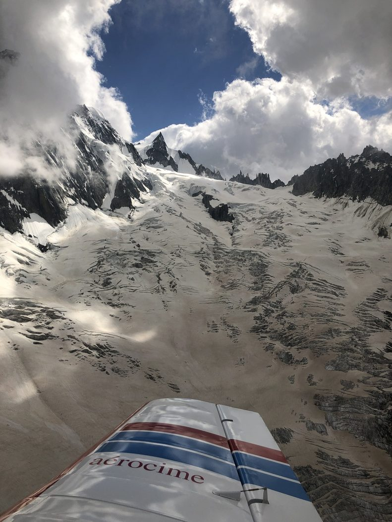 aerocime - vol avion massif du mont blanc - megeve - France - image 6