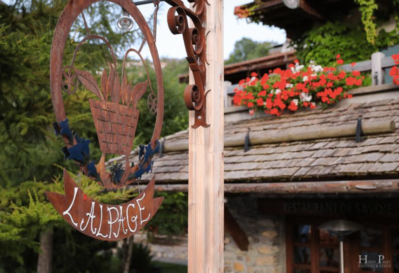 alpage restaurant - megeve - france - 3