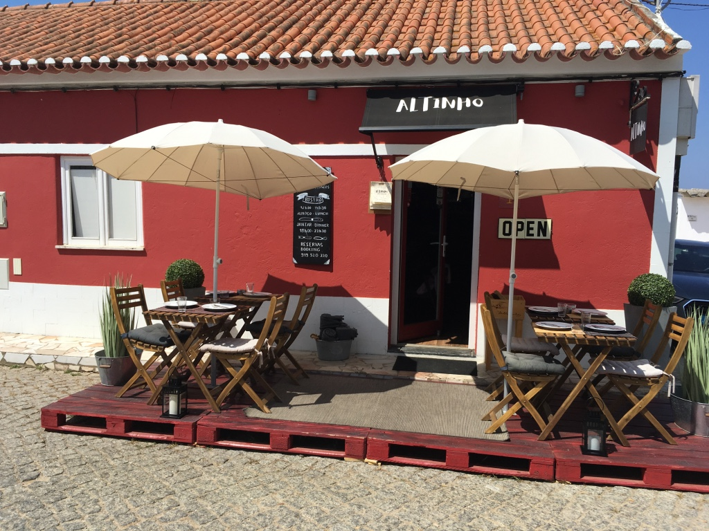altinho restaurant tapas - odeceixe - portugal