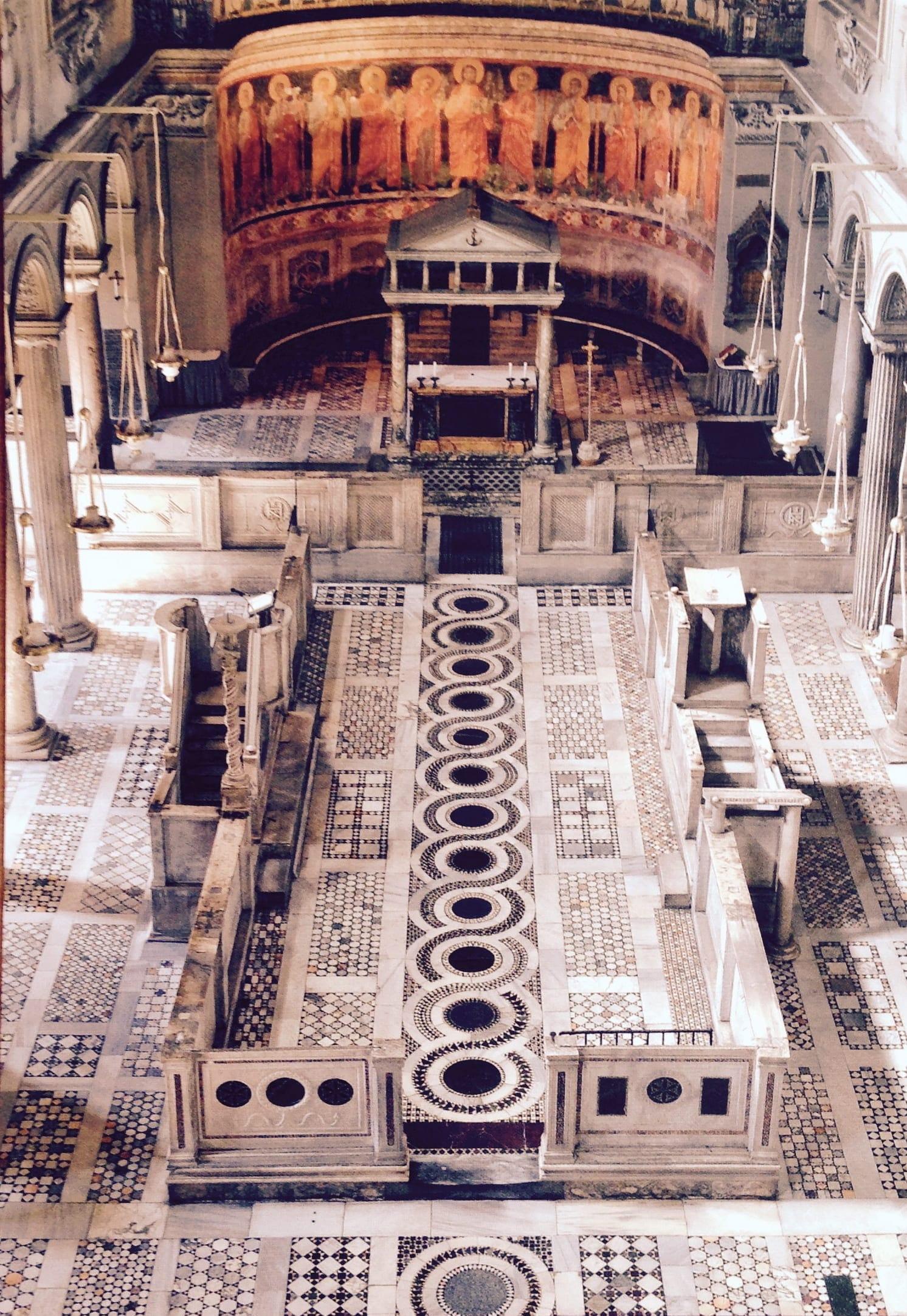 basilica san clemente - rome - italie (2)