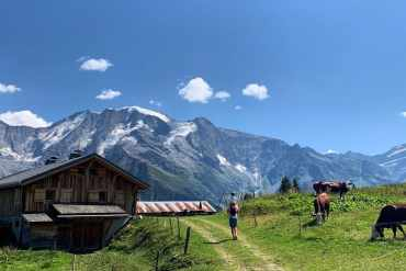 refuge du porcherey - megeve - france - 2