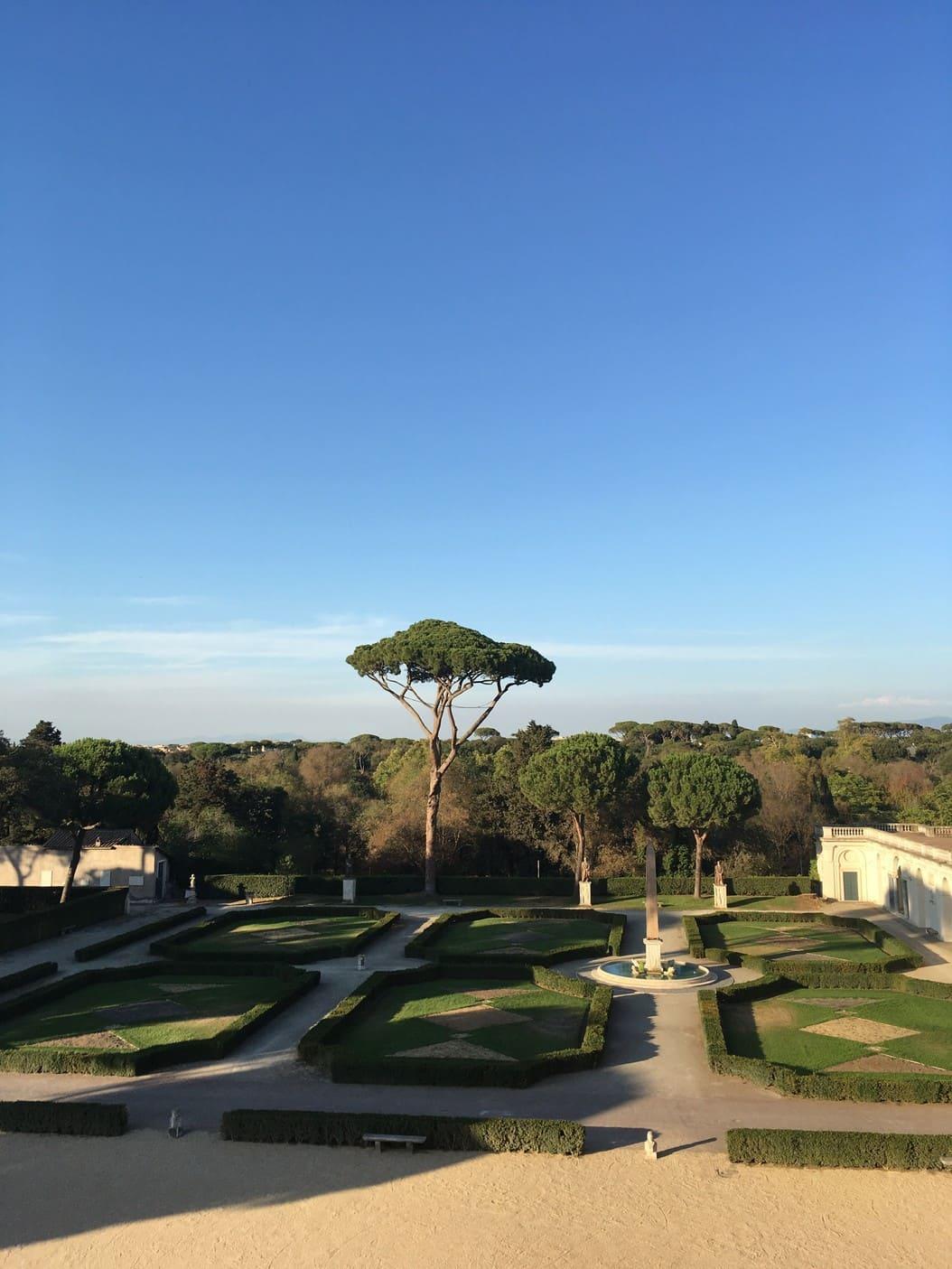 villa medicis - italie - rome