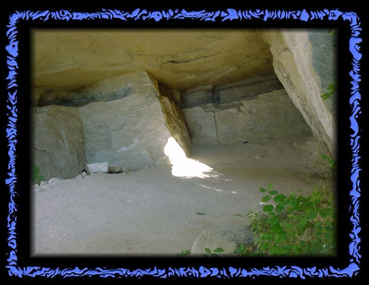 Kraftort in der Emma Kunz Grotte