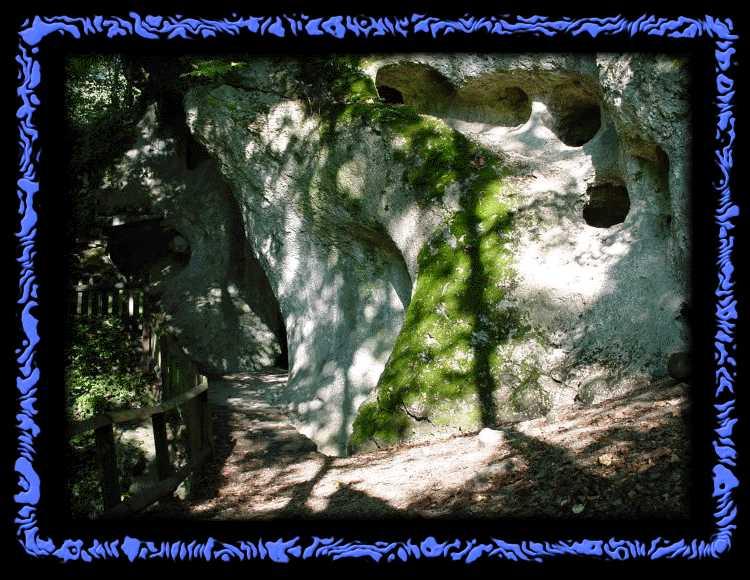 Fantastic nature at Ermitage of Arleshein