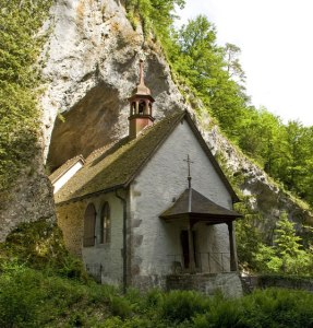 Martinskapelle in der Verenaschlucht