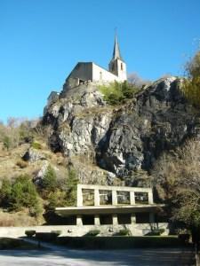 Kirchen von Raron - Wallis