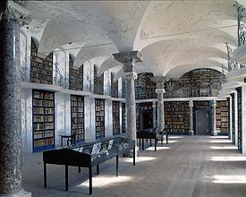 Kloster Einsiedeln Bibliothek