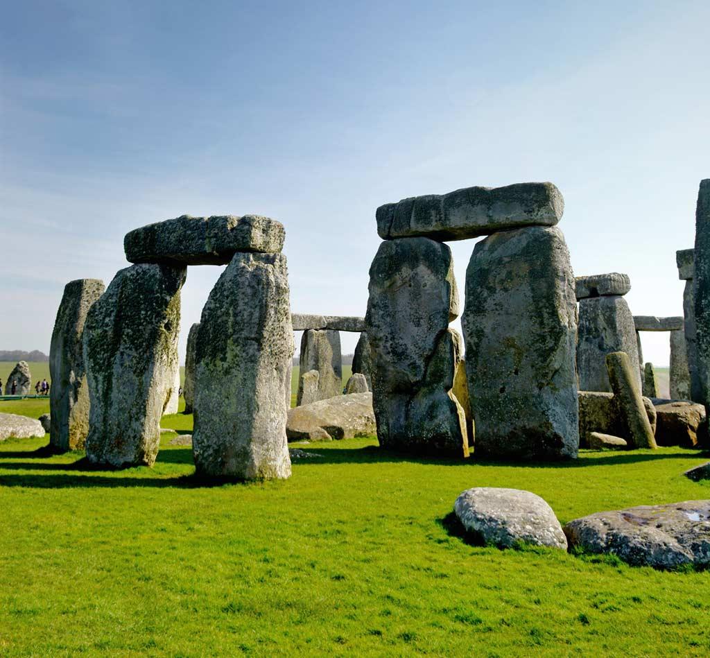 Mega Kult- und Kraftort Stonehenge in Südengland