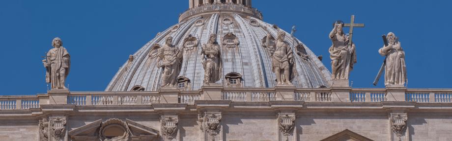 Petersdom Vatikanstadt Rom