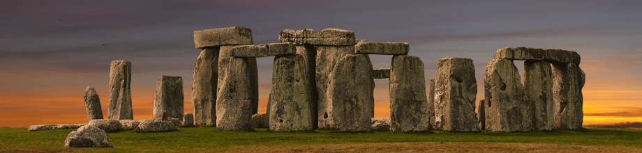 Stonehenge in the south of England