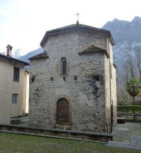 Baptisterium - Riva San Vitale