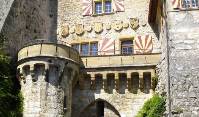 Schloss Vaumarcus - Kanton Neuenburg