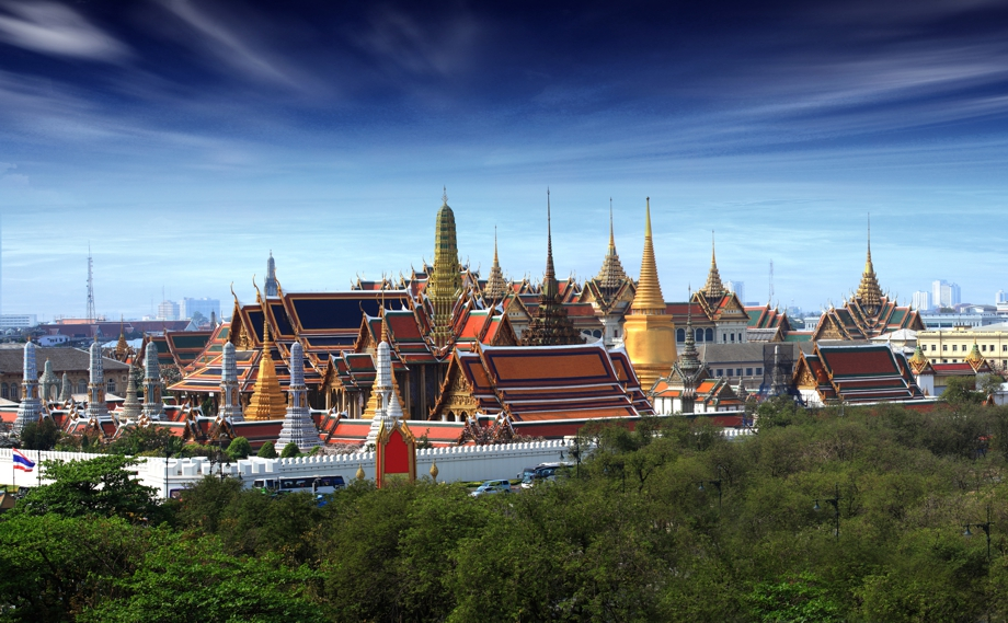 Grosser Palast (Grand Palace) in Bangkok