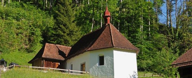 Flüeli-Ranft Kapelle - Bruder Klaus Einsiedelei