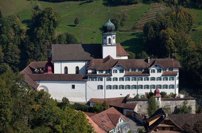 Kloster Werthenstein Wallfahrtskirche am Jakobsweg